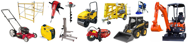 Equipment Rentals in Hollywood and Fort Lauderdale FL