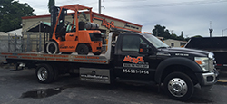 Equipment delivery in Hollywood and Fort Lauderdale FL