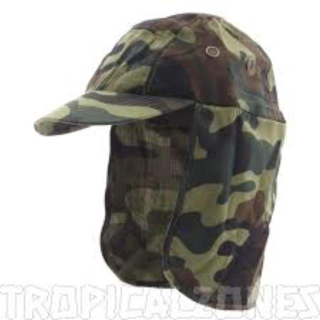 Where to find CAMO CAP W NECK FLAP in Miami